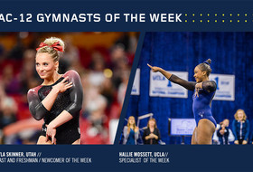 Utah's Skinner, UCLA's Mossett take home Pac-12 gymnastics weekly honors