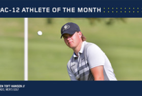 Colorado's Hansen named Pac-12 Golfer of the Month