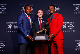 Stanford football's Christian McCaffrey finishes second in 2015 Heisman Trophy race