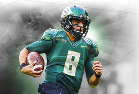 Oregon's Marcus Mariota is first Duck to win Heisman Trophy