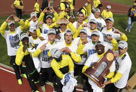 Roundup: Oregon claims Pac-12's 10th NCAA title of 2013-14