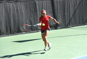 Upsets highlight day two of Pac-12 Women's Tennis Championships