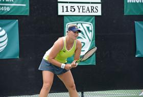 California women's tennis Klara Fabikova