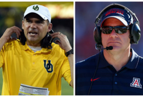 Pac-12 football coaches teleconference: Mark Helfrich, Rich Rodriguez prep for Pac-12 Championship