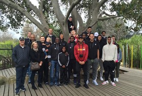 Pac-12 all-stars visit Melbourne Zoo