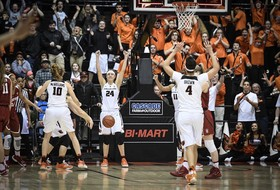 Oregon State claims top seed in Pac-12 Women's Basketball Tournament