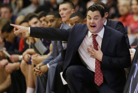 Video: Arizona's Sean Miller reacts after close win over Stanford