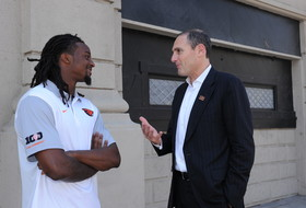 2015 Pac-12 Football Media Days: Commissioner Scott's favorite player is Larry Scott