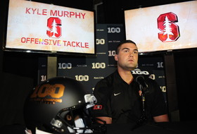 2015 Pac-12 Football Media Days: Stanford offensive line looking to build on end of 2014 season