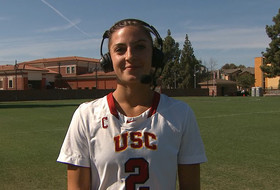 USC lacrosse's Michaela Michael on recent first-half success, early goals