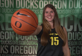 Video: Oregon's Liz Brenner can do everything