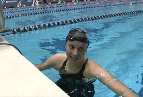 2017 Pac-12 Swimming (W) & Diving (M/W) Championships: Stanford's Katie Ledecky breaks American record in 400yd medley