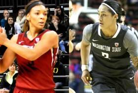 Tia Presley, Lia Galdeira make perfect pair for Washington State