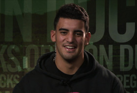 Marcus Mariota on being named 2014 Pac-12 Offensive Player of the Year