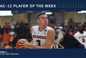 Pac-12 Men's Basketball Player of the Week - Tres Tinkle