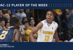 Pac-12 Men's Basketball Player of the Week Nov. 21, 2016 California's Charlie Moore