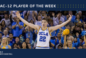 Pac-12 Men's Basketball Player of the Week TJ Leaf, UCLA