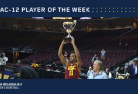Pac-12 Men's Basketball Player of the Week Jordan McLaughlin Dec. 26, 2016