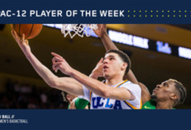 Pac-12 Men's Basketball Player of the Week for Feb. 13, 2017 UCLA's Lonzo Ball