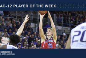 Pac-12 Men's Basketball Player of the Week Feb. 20, 2017 Arizona's Lauri Markkanen