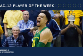 Pac-12 Men's Basketball Player of the Week Feb. 27 Oregon's Dillon Brooks