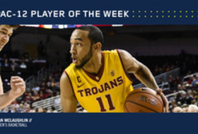 Pac-12 Men's Basketball Player of the Week March 6 USC's Jordan McLaughlin