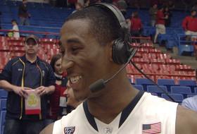 Postgame interview: Arizona's Rondae Hollis-Jefferson on great dunk