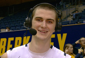 Cal's David Kravish after the Bears' come-from-behind win over Princeton