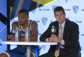 2014-15 Pac-12 Men's Basketball Media Day: UCLA's Steve Alford & Norman Powell