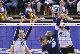 NCAA women's volleyball scores for Dec. 5
