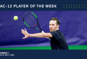Pac-12 announces the men's tennis player of the week