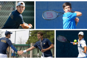 NCAA men's tennis: 3 singles, 1 doubles team advance to quarterfinals