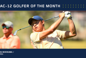California's Morikawa named Pac-12 Men's Golfer of the Month