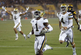 UCLA football's Ishmael Adams a game-changer Thursday night