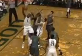 Video: Oregon's Mike Moser jams over 7-foot-6 Ndiaye