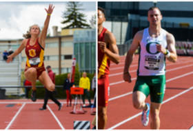 USC's Amalie Iuel, Oregon's Dakotah Keys win Pac-12 Track & Field Championships multi events