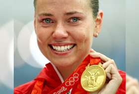 Gold medalist Natalie Coughlin recalls her favorite Olympic moment