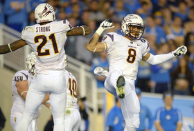 """<p>The<a href=""""http://pac-12.com/videos/arizona-state-football-beats-ucla-highlights"""" target=""""_blank"""">Sun Devils clinched the Pac-12 South</a>and<a href=""""http://pac-12.com/article/2013/11/23/stanford-arizona-state-play-pac-12-football-championship-game"""" target=""""_blank"""">earned a rematch against Stanford</a>with their heartrending victory in Pasadena Saturday.<a href=""""http://pac-12.com/videos/arizona-state-football-clinch-first-championship-game-berth-feature"""" target=""""_blank"""">Taylor Kelly accounted for over 300 yards of offense</a>as Arizona State built up a big first-half lead that proved to be enough. The Forks<a href=""""http://pac-12.com/event/2013/11/30/arizona-arizona-state"""" target=""""_blank"""">returnhome to host Arizona</a>, while<a href=""""http://pac-12.com/event/2013/11/30/ucla-usc"""" target=""""_blank"""">UCLA heads to USC next week</a>.</p>"""