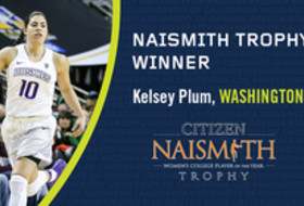 Washington's Kelsey Plum Naismith Trophy winner