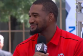 Utah's Nate Orchard a father figure on the field, father off the field