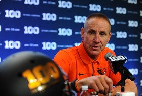 Oregon State head coach Gary Andersen