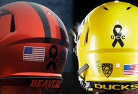 Pac-12 uniform watch: ASU drops the hammer, Oregon schools show unity amidst tragedy