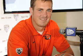 Oregon State quarterback Sean Mannion has football in his blood