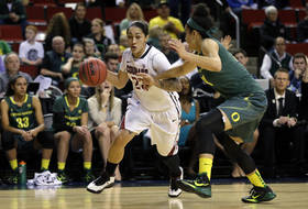 Lia Galdeira leads Washington State to thrilling win over Oregon in Pac-12 tourney first round