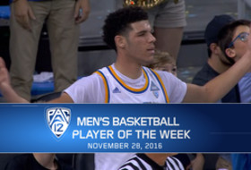 UCLA's Lonzo Ball named Pac-12 Men's Basketball Player of the Week