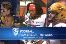 Cal's Chad Hansen, Oregon State's Treston DeCoud, and Arizona State's Zane Gonzalez named football Players of the Week