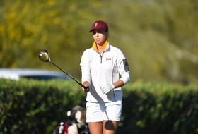 ASU's Vaughn named Pac-12 women's golfer of the month