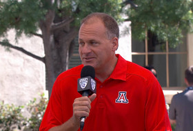Video: Arizona's Rich Rodriguez on replacing Ka'Deem Carey