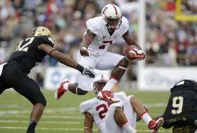 "<p>It took the Cardinal some time to fight off the sleepiness from an early start, but Stanford <a href=""http://pac-12.com/videos/highlights-stanford-football-stops-army-34-20"" target=""_blank"">eventually physically overpowered Army</a> at West Point. Ty Mongtomery hauled in six passes for 130 yards to complement Tyler Gaffney's career-best 132-yard rushing performance and push the Cardinal to 2-0 before its first conference showdown of the season, <a href=""http://pac-12.com/event/2013/09/21/arizona-state-stanford"">a massive home contest against Arizona State</a> on Saturday, Sept. 21.</p>"