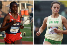 Arizona's Lawi Lalang, Oregon's Laura Roesler named Pac-12 Track & Field Scholar-Athletes of the Year